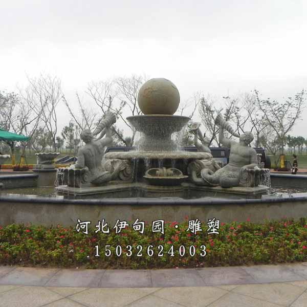 室外大型雕塑喷泉 园林景观喷泉雕塑 欧式水景喷泉 广场景观喷泉雕塑